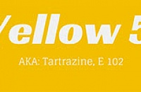 tartrazine - Yellow 5