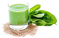 spinach juice