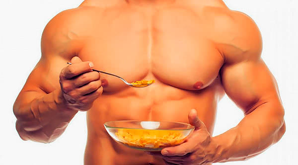 diet for gaining muscles